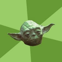 Йода (Yoda) шаблон мемгенератора