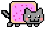Nyan Cat шаблон