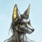 furry jackal