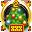 «Сверхсекретная новогодняя медаль» - награда для того, кто дважды помогал наряжать новогоднюю ёлку в секретных разделах.