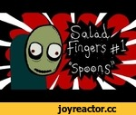 Salad Fingers 1 - Spoons,Film,,NOW IN HD! http://www.youtube.com/watch?v=OWBFKL6H7rI  Buy Salad Fingers Tshirts and help support me: http://www.cafepress.com/fatpie2 Grab me on twitter: http://twitter.com/david_firth Salad Fingers On Facebook: http://on.fb.me/12yxjxd  For more animation and