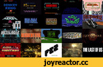 "A Brief History of Video Game Title Design,Art of the Title, title design, title sequence, end credits, opening credits, video games, gaming, arcade, console, Xbox, PS2, PS3,A brief history of video game title design, created to accommodate our ""Talking Titles: How The Language of Cinema Changed Vi"