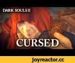 Dark Souls II - PS3/X360 - Cursed (Trailer),Games,,Still considering to go beyond death...? One of the most challenging and rewarding journey ever will start soon for you in Dark Souls II. In the tormented kingdom of Drangleic, a cure to the Curse awaits to be found, but you will have to die
