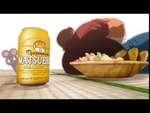 Реклама пародия на пьяного мастера мышь пародирует Джеки Чана,Comedy,,Кривляется как Джеки Чан