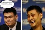 Яо Минь.как вы относитесь к тому что ваше лицо стало интернет мэмом?