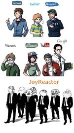 пользователи социальных сетей и пользователи реактора
