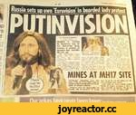 A 2G Thursday, July 31,2014 11 Russia sets up own 'Eurovision* in bearded lady Protest V ' By LEIGH HOLMWOOD Doputy TV Editor RUSSIA is reviving its Soviet-era take on the Eurovision Song Contest in protest at bearded lady Conchita Wurst's win. The intervision event, which ran from 1977 t