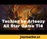 Techies by Arteezy All Star Game TI4 Dota 2,Games,,Subscribe: http://bit.ly/PotatoGamingDota2 Techies revealed in the All Star Match by Arteezy.The international 2014 Dota 2 Team rOtk vs Team XBOCT  Full Game: https://www.youtube.com/watch?v=ilq60nmSTkE Music: http://audiomicro.com/
