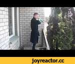 What to do if you are late for work? (Sketch Comedy),Comedy,,Что делать если опаздываешь на работу? / What to do if you are late for work? JUMPED FROM BALCONY ON THE TREE Зачем нужна лестница / Why you need a ladder [ sketch ] what to do if late for work, Jump from balcony on the tree CRAZY VINES 20