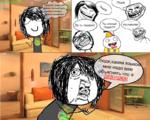 Педик '•бАолол.пришш*-время посмотреть комментарии к к моим комиксам 1 гомосек! Ты сланый Пидал!!!! пидарас! Пюди,каким языко мне надо вам объяснять что я Ь, ДЕВУШКА! .