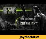 "Hatred: Steam Greenlight ""Call To Arms"" Teaser,Games,,STEAM BANNED OUR GREENLIGHT CAMPAIGN, YOU HAVE NOTHING TO VOTE FOR ANYMORE. BUT THIS TEASER STAYS ON YOUTUBE.  What was here before:  If you are a diehard Hatred fan then this is the most important news of this year!  We're announcing that Ha"