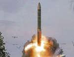 """С космодрома «Плесецк» проведён пуск баллистической ракеты """"Ярс"""",News,,Сегодня с космодрома «Плесецк» успешно произведен испытательный пуск межконтинентальной баллистической ракеты РС-24 «Ярс». Учебные боевые блоки поразили цели на полигоне «Кура», что на полуострове «Камчатка»."""