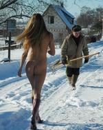 Русская женщина!