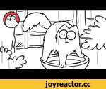April Showers - Simon's Cat,Animals,,'A cautious cat tries to stay dry until his cover is blown!' Don't forget to SHARE + SUBSCRIBE! http://www.youtube.com/subscription_center?add_user=simonscat CREDITS Directed by: Simon Tofield Animation: Sarah Airriess Clean Up: Aude Carpentier Assistant