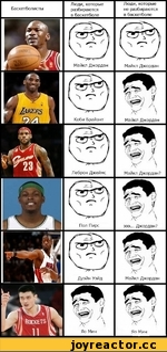Баскетболисты Люди, которые разбираются в баскетболе Люди, которые не разбираются в баскетболе }Ь^) \ Майкл Джордан Майкл Джордан? ''ЩI ■к' \ Яо Мин йоскетэ