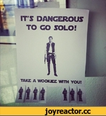 № ' IT'S DANGEROUS TO CO SOLO! TAKE A WOOK.IEE WITH YOU!