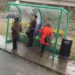 A Bus Station Tsunami