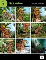 Bel ti machann (Pretty hawker) Story and art : Chevelin Pierre