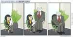 THE ADVENTURES OF BUSINESS CAT TOM FONDER BUSINESSCAT.HAPPYJAR.com Теперь я здесь живу