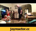 Mom finds out how Dad watches the kids,Entertainment,how dad watches kids,grandma,kids dancing,rumble viral,viral video,children dancing,mom catches dad,Rujeana, the mother of two children decided to setup a camera of her kids in the living room. The idea was to setup a camera so their Grandma can