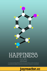HAPPINESS c8huno2 DOPAMINE A compound that affects brain processes that control e motional response and ability to experience pleasure, desire or motivation.