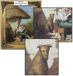 Картина 'Крестьяне с ребёнком