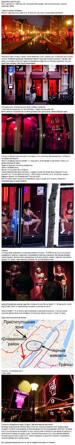 Здравствуй, дорогой друг! Хочу поделиться с тобой опытом посещения Амстердама, опустим архитектуру и красоты, перейдем к Делу! «Квартал красных Фонарей» Квартал представляет из себя штук 15 больших и не очень улочек района Де-Валлен Некоторые дамы, которые торгуют своим временем, стоят с самого