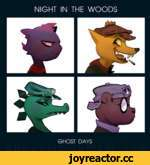 NIGHT IN THE WOODS GHOST D/
