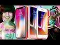 iPhone X и его младший брат iPhone 8,Science & Technology,iphone x,обзор,iphone,iphone 8,wylsa,ревью,прикол,гуфовский,тренды,лайфхак,дружко,Я безрамочный потому что палочный