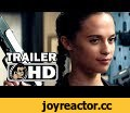 TOMB RAIDER Official Trailer #1 (2018) Alica Vikander Lara Croft Movie HD,Entertainment,tomb raider,trailer,2018,official,tomb raider trailer,lara croft,alicia vikander,action,video game movie,hannah john kamen,walter goggins,lara croft movie,tomb raider movie,tomb raider 2018,official
