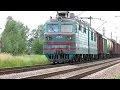 Железная дорога - Электровоз ВЛ80т-2027 с грузовым поездом (11 июня 2016 г.),Autos & Vehicles,Железная дорога,Железная,дорога,Электровоз,ВЛ80т,ВЛ80,ВЛ,2027,грузовы