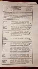 УТВЕРЖДЕН постаношснисм Цопрал кной избирательной комиссии ! оссийской Фсд от№ и <М11>А ТЕЛЬНЫЙ БЮЛЛЕТЕНЬ ым голосовиним на выборах Пре »идеи I а Российской Федерации 1« мирщ 2018 голи <Меос ли рл^смют» яшм агогтиссЛ чдоюа 1уч*,-Т*0ФсФ 1'А 1 ЬЯСНВНИЕ О ПОРЯДКе ЗАПОЛНЕНИЯ ИЗБИРАТЕЛЬНОГО Ь