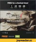 FREE for a limited time! 123 50 46 days hours mins secs