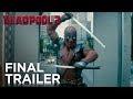 Deadpool 2: The Final Trailer,Film & Animation,Trailer,Deadpool,20th Century Fox (Production Company),Deadpool Movie,Ryan Reynolds (Celebrity),Ed Skrein (Musical Artist),T. J. Miller (TV Writer),Gina Carano (Martial Artist),Red band,Red band deadpool,Marvel,Marvel Comics,Comic Book (Comic Book