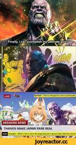 Up Next: Thanos changed his name to thanoshii ^ THANOS MAKE JAPARI PARK REAL Avengers : Wtf if u tell us since the beginning we're gonna help u find the stones rc'il * /\A *1 r Tt t № rev/> Mi WT*-~rs7