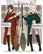 Harry Potter Gryffindor Grade 2 Draco Malfoy Slytherin Grade 2