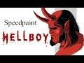Speedpaint - Хеллбой/Hellboy ( Paint tool sai ),Howto & Style,Hellboy,Хеллбой,trailer hellboy,хеллбой,фильм хеллбой,Герой из Пекла,хеллбой герой из пекла,комикс хеллбой,золотая армия,хеллбой золотая армия,hellboy,хеллбой герои,хеллбой злодеи,хеллбой персонажи,Speedpaint - Хеллбой/Hellboy ( Paint too