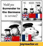 Would you Surrender to the Germans