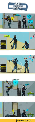 Концепт оперативника с собакой / Rainbow Six Siege