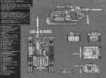 """САУ """"Истребитель"""" (Destroyer) Тип - Истребитель танков Мир Кузница - Марс, Люциус, Восс, Стигис 8 и М'кханд № il 9)   Длина корпуса (без пушки) - 7,08 м; (с пушкой) - 10,45 Ширина корпуса - 4, •Высота корпуса -4м •Масса - 52 тонны •Макс скорость (по дороге) - 40 км/ч •Макс скорост"""
