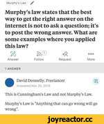 Murphy's Law /