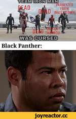 PARALYZED FROM OWN гсшсвдшжэ Black Panther: