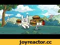 Rabbit Travel - 2x2 Anti-Fast Food,Film & Animation,фастфуд,гамбургер,volfmaple,rabbit,animation,анимация,2x2,заяц,социалка,мультик,юмор,здоровое питание,Не злоупотребляйте, это ловушка!