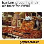 Iranians preparing their air force for WWW