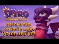 Spyro Reignited Trilogy PC Mod - Reignited Cynder Voice Mod Cutscenes,Gaming,Spyro,Spyro the Dragon,Spyro Reignited Trilogy,PS4,Xbox One,Nintendo Switch,PC,Steam,CrystalBlazier,Toys For Bob,Activision,Sanzaru Games,Cynder,voice,mod,► DragonSkyRunner's Nicholas Kole Reignited Cynder Mod: ht