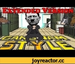 Hitler - Gangnam Style PARODY - Extended Full-Version ( 4 Minutes ),Music,,* 1000 likes for a 10 hour version?! * Original Short Version: http://www.youtube.com/watch?v=6Eo5YU_ueJc LIKE / FOLLOW us for a chance to win an EXCLUSIVE Hitler - Gangnam Style T-Shirt!