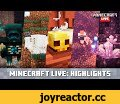 Minecraft Live: Update Highlights,Gaming,minecraft,minecraft live,minecon 2020,cave update,Caves. Cliffs. DLC. Mobs. Items. Content. Tools. And. More. Phew! Cramming all of the highlights from Minecraft Live into one video doesn't leave much space for a caption! Read more at ht