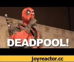 Deadpool Does Comic-Con,Games,,When Deadpool's game was announced at Comic-Con, he took it upon himself to promote it. And, uh, things got interesting...