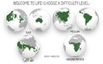 WELCOME TO LIFE! CHOOSE A DIFFICULTY LEVEL: HEAVY I HARDCORE HAKUNA MATATA