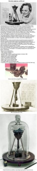 """Восемь капель за 80 лет r»M ftTOtnuaicntWM'i »«¿в ati. - !«• ж» ГЦ. rt4> и* - 2-.M:c«».i ЛИ A»t Ju^TWi i**: **«• • <*« *'.• """"u /*>'. ' S' * 14* ffk* Эксперимент был начат профессором физики в Университете Квинсленда Томасом Парнеллом в 1927 году для того, чтобы продемонстрировать, что обыденные"""